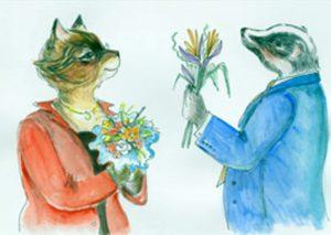 cat badger Heloise Abelard