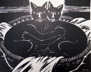 cat badger unnatural friendship séance babel