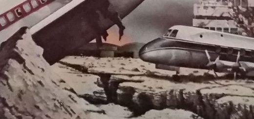 earthquake airport devastation guernsey