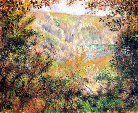 The weather is breaking (Renoir-Moulin Huet)