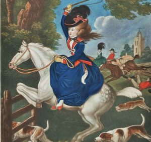 foxhunting clever women