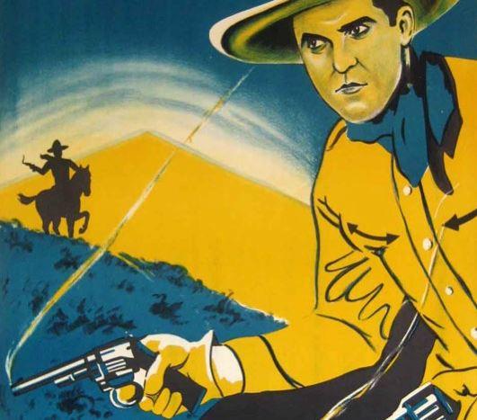 guns smoking cowboy story written by poet