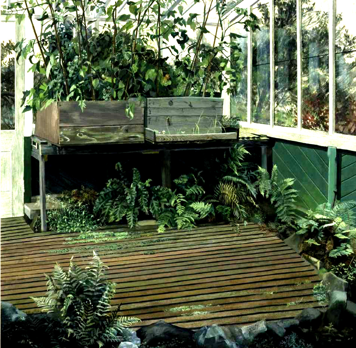 conservatory dream nightmare childhood