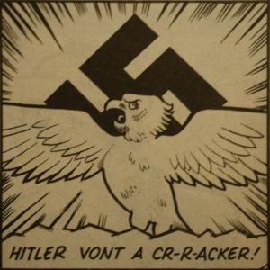 hitler nazi parrot zoo