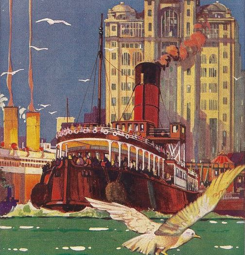 liverpool ferry pier-head