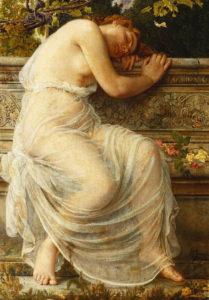 dreamer victorian lady innocence intrigue